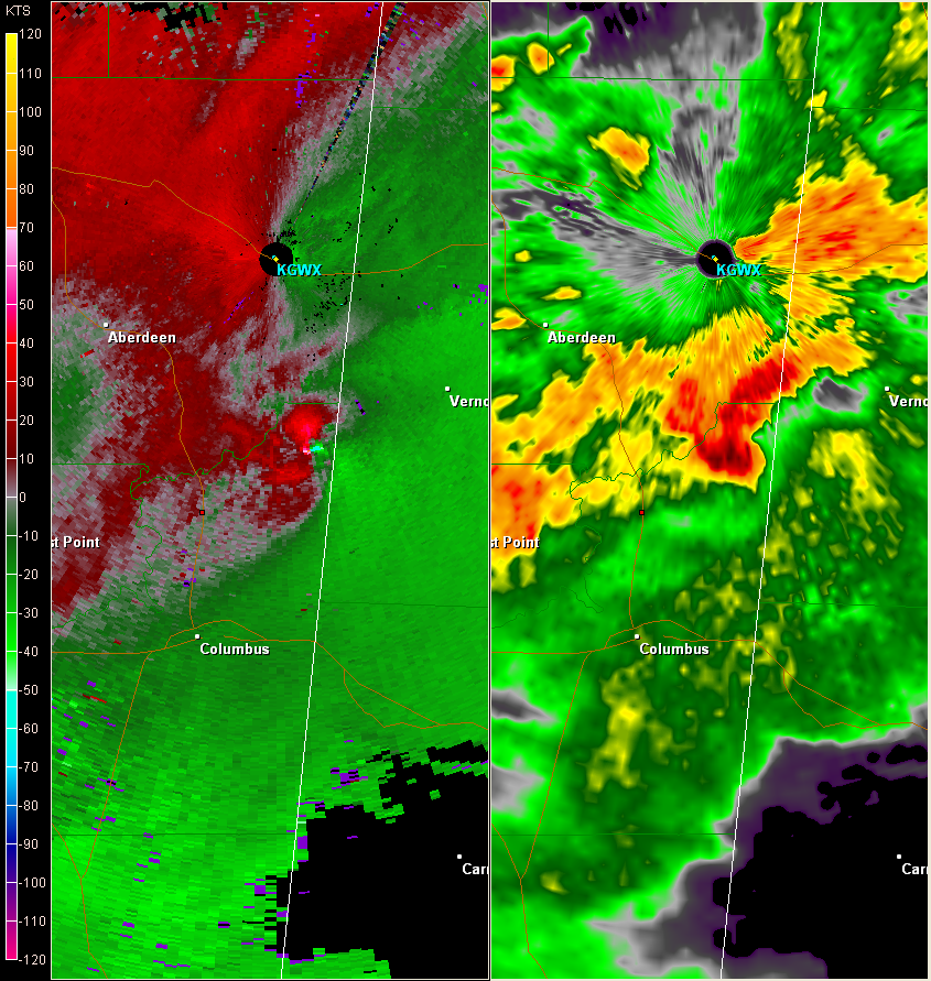 Caledonia, MS EF3 Tornado – January 10, 2008