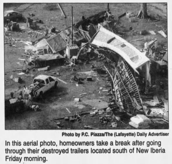 Lydia-Loreauville, LA F1 Tornado – January 4, 2007