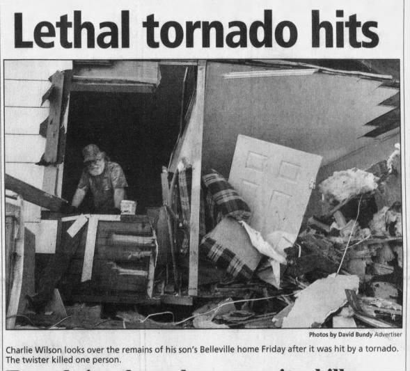 Belleville, AL F1 Tornado – January 13, 2006