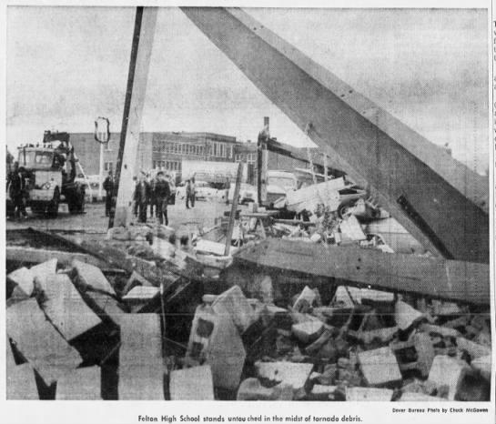 Felton, DE F2 Tornado – January 27, 1967