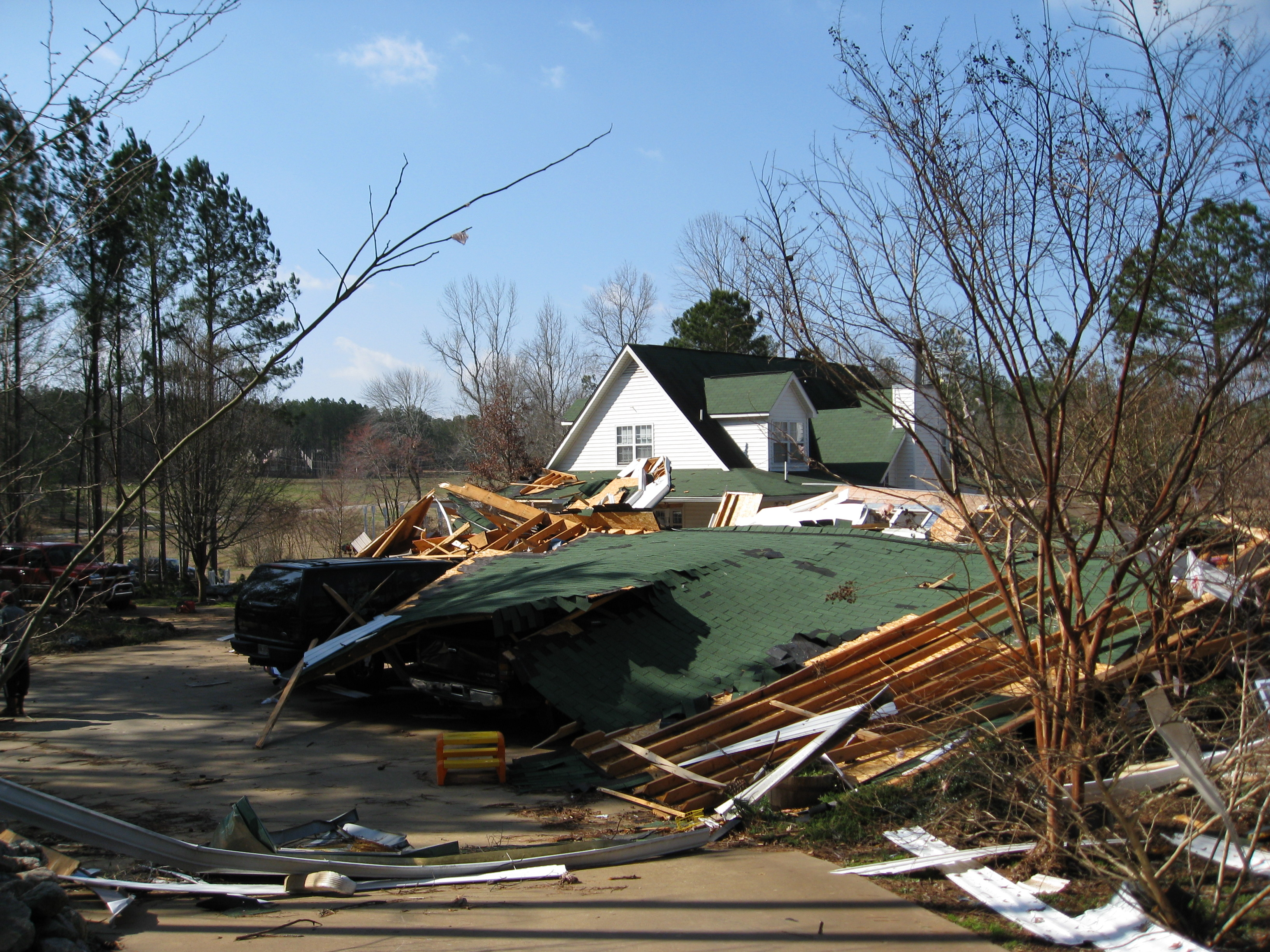 Luthersville to Blantons Mills, GA EF2 Tornado – February 18, 2009
