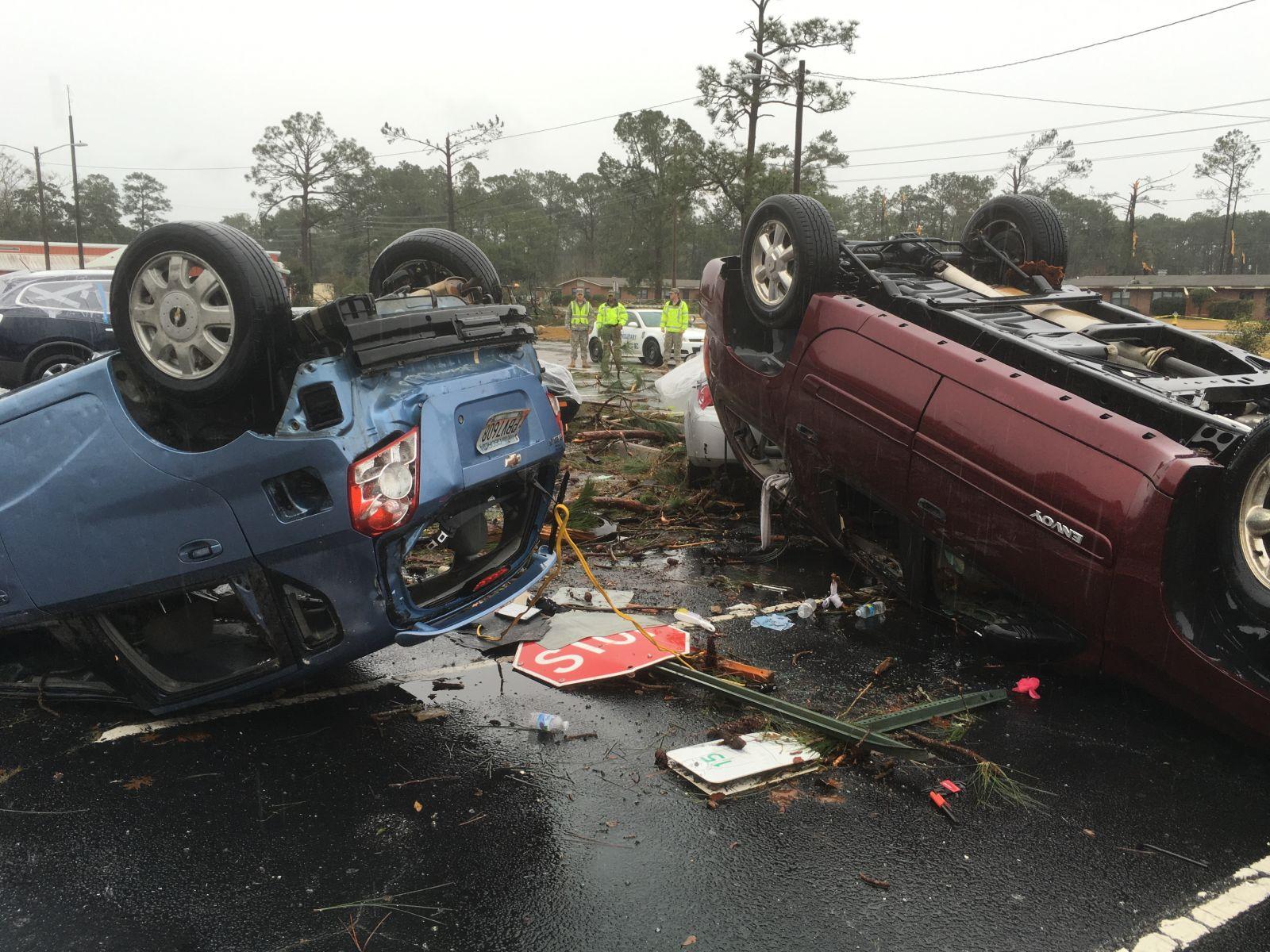 Fort Stewart, GA EF1 Tornado – February 3, 2016