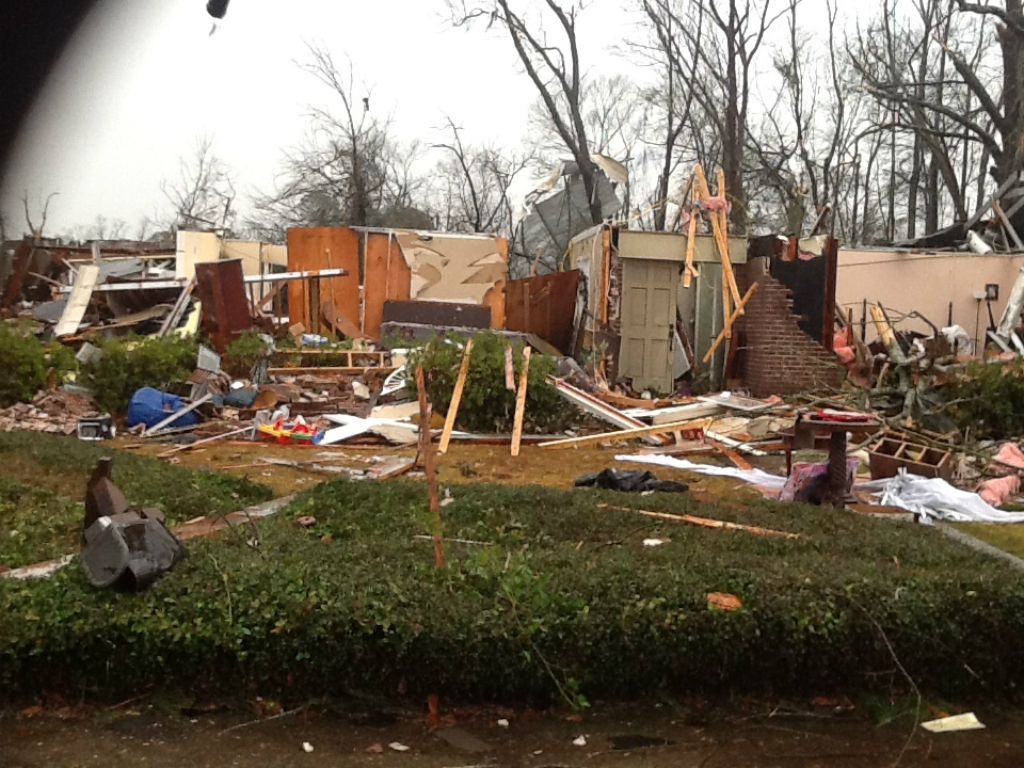 Hattiesburg, MS EF4 Tornado – February 10, 2013