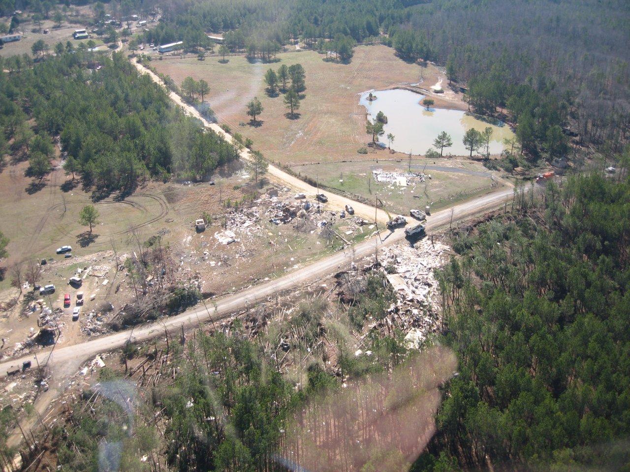 Jackson County, AL EF4 Tornado – February 6, 2008
