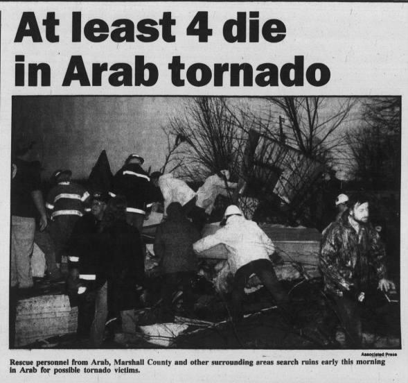 Joppa-Arab, AL F3 Tornado – February 16, 1995