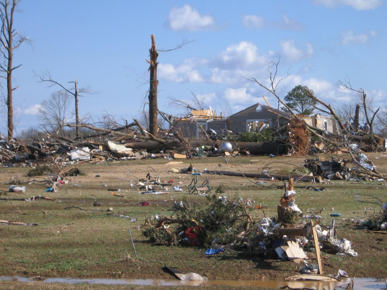 Lawrence-Morgan Counties, AL EF4 Tornado – February 6, 2008