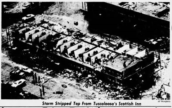 Tuscaloosa, AL F4 Tornado – February 23, 1975