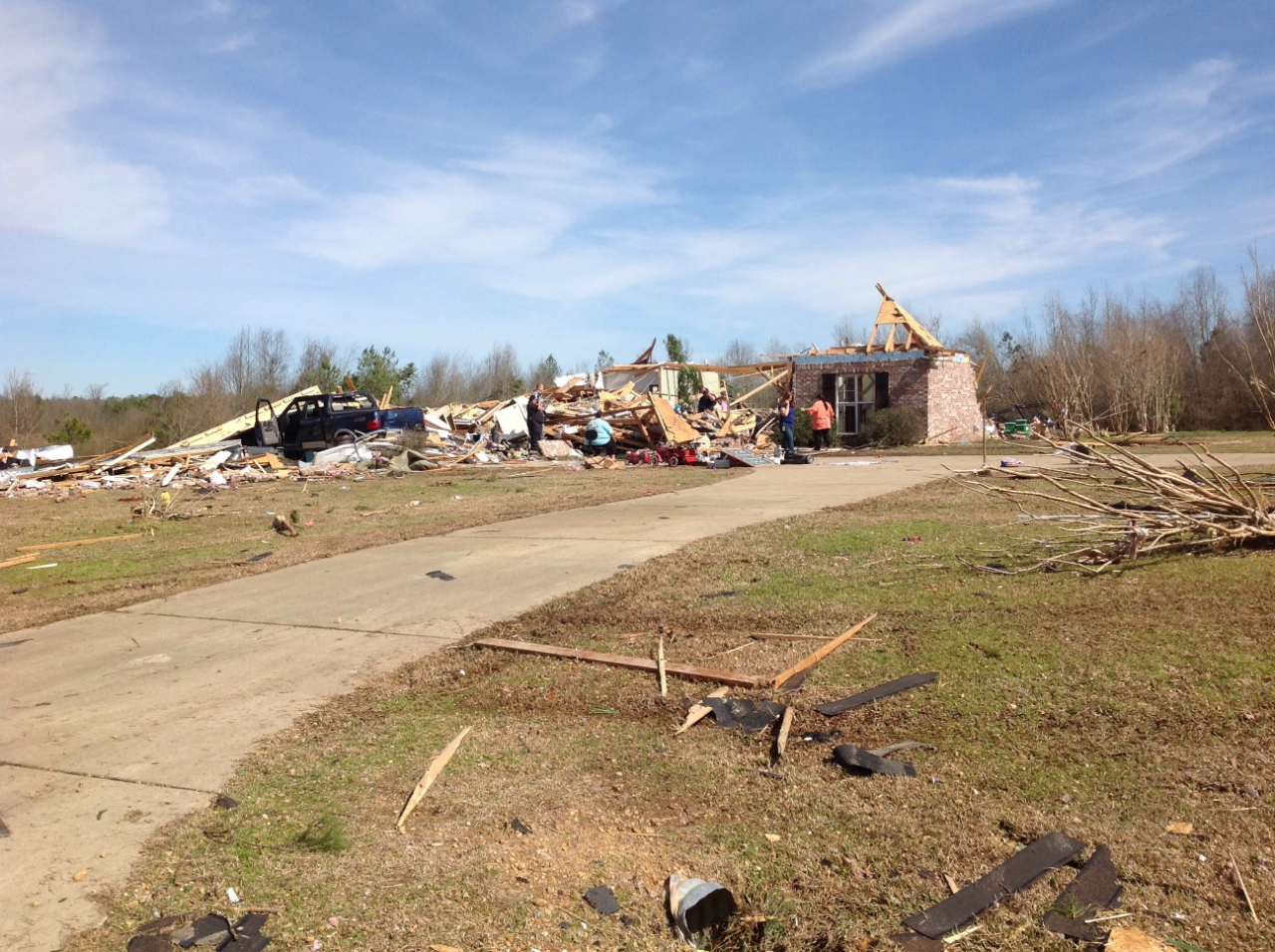 Wesson-Pinola, MS EF2 Tornado – February 15, 2016