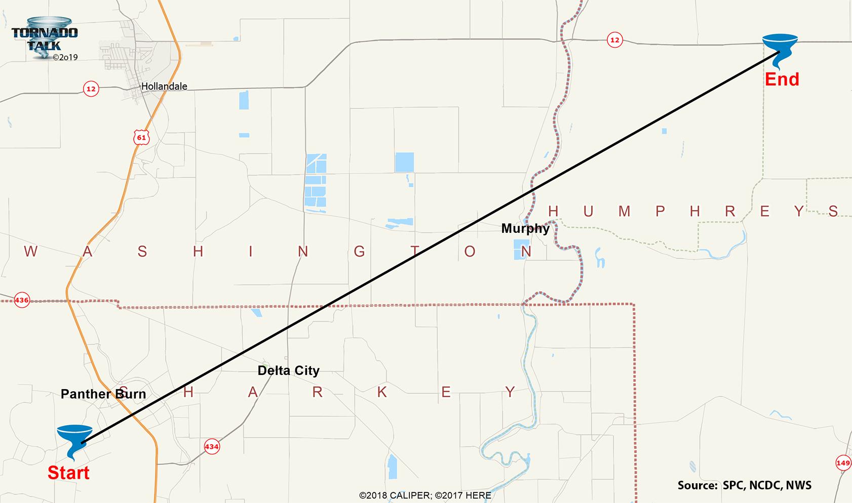 Murphy, MS F4 Tornado – March 9, 1992