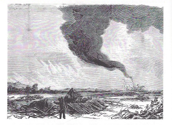 First Recorded Tornado in the U.S.
