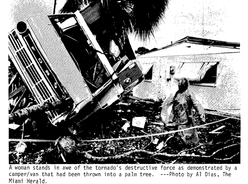 Venice, FL F3 Tornado – March 17, 1985