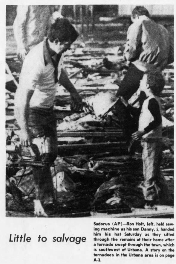 Casner to Danville, IL F4 Tornado – March 20, 1976