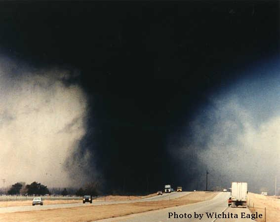Hesston-Goessel, KS F5 Tornadoes – March 13, 1990