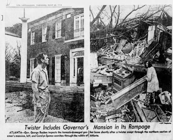 The Governor's Tornado – March 24, 1975