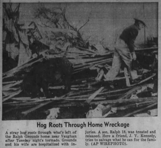Hill County, TX F4 Tornado – March 31, 1959
