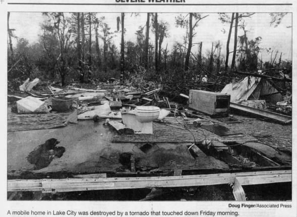 Lake City, FL EF2 Tornado – March 7, 2008