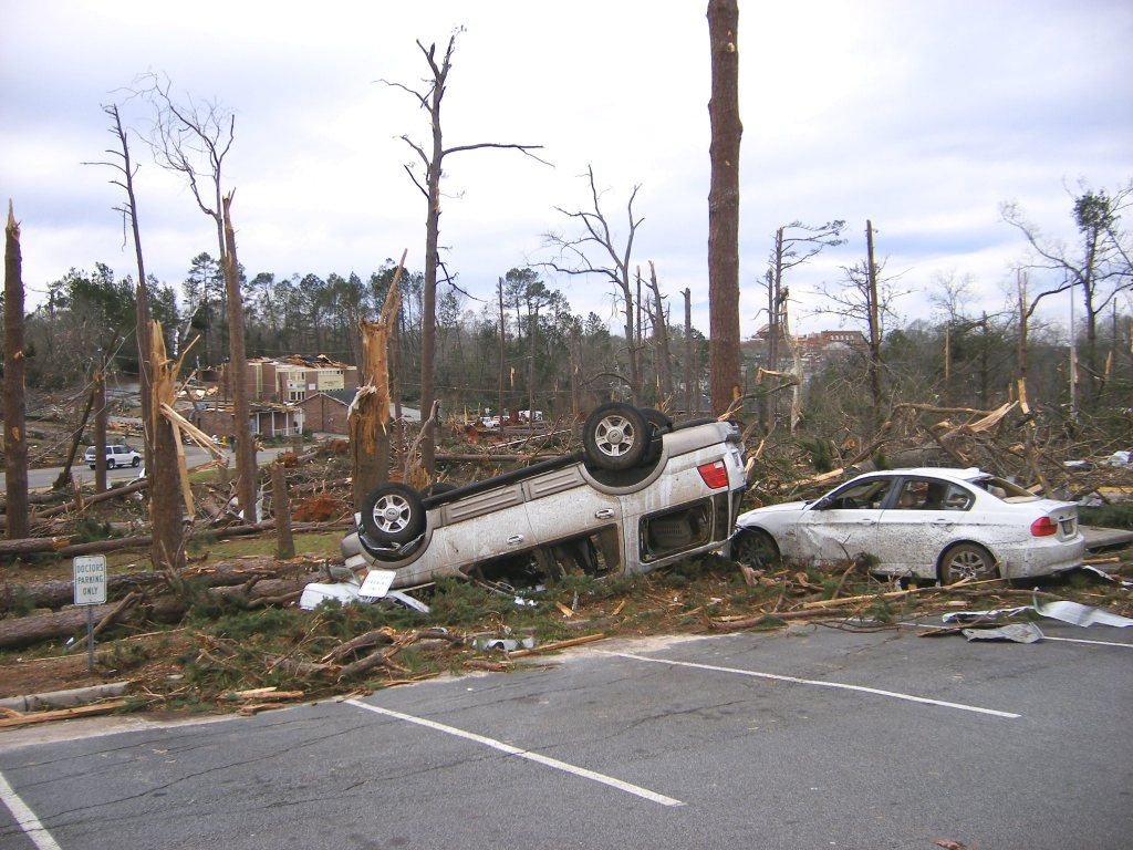Americus, GA EF3 Tornado – March 1, 2007
