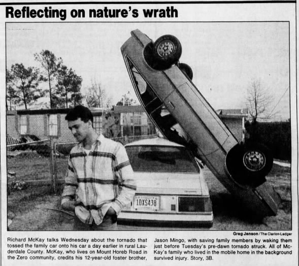 Zero-Vimville, MS F3 Tornado – March 10, 1992