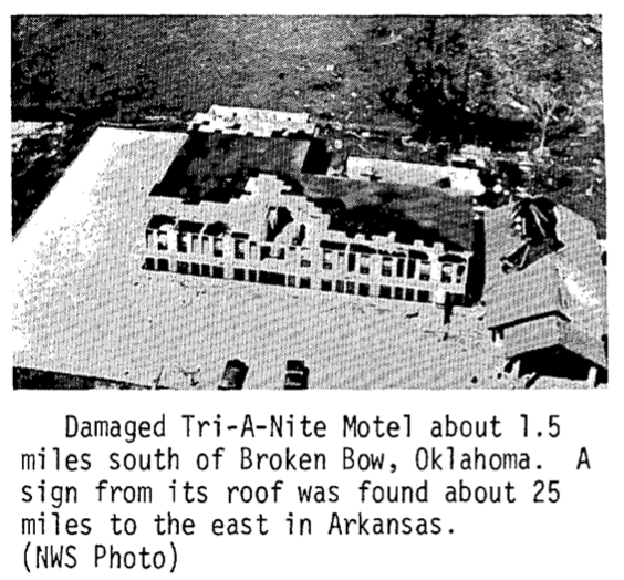 Choctaw/McCurtain County, OK F5 Tornado – April 2, 1982