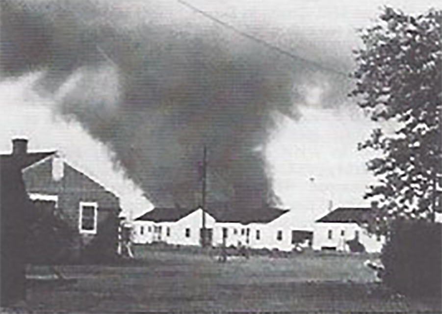 Warner Robins, GA F4 Tornado – April 30, 1953