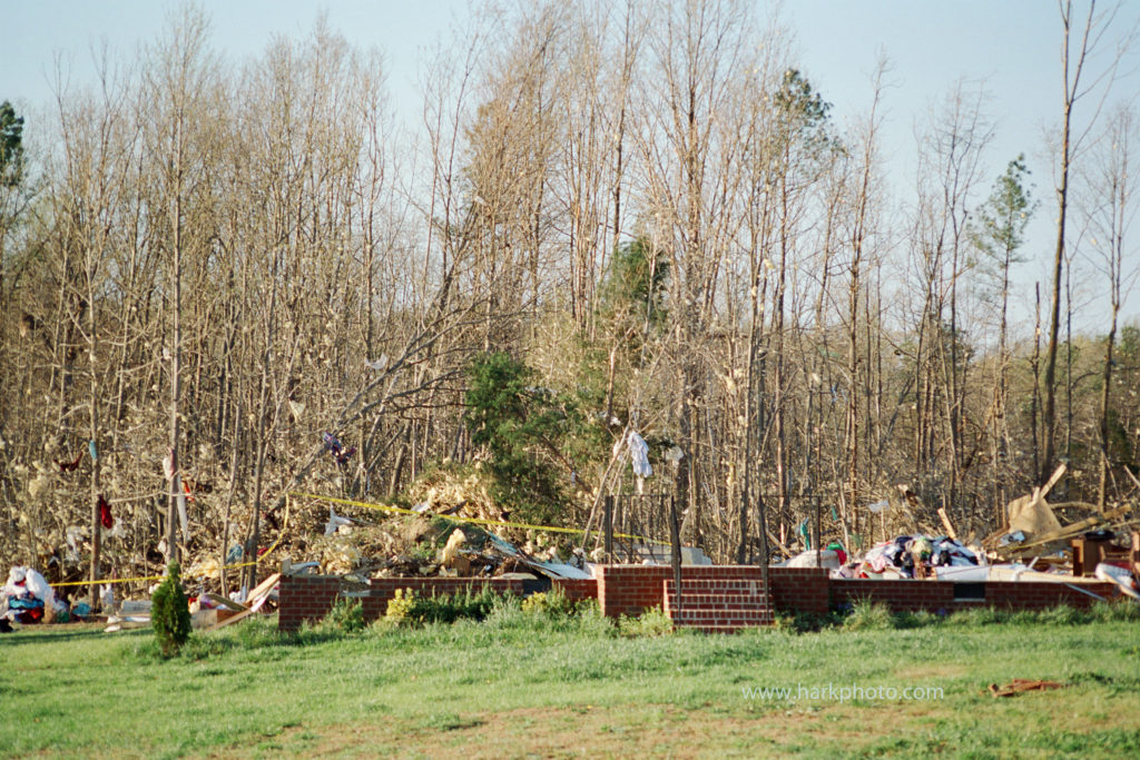 Coatesville, VA F3 Tornado – April 1, 1998