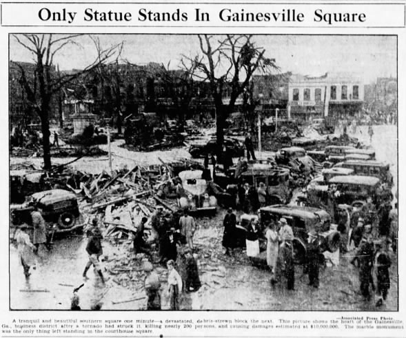 Gainesville, GA Tornadoes – April 6, 1936