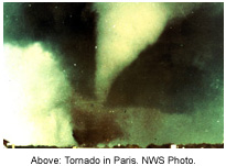 Paris, TX F4 Tornado – April 2, 1982