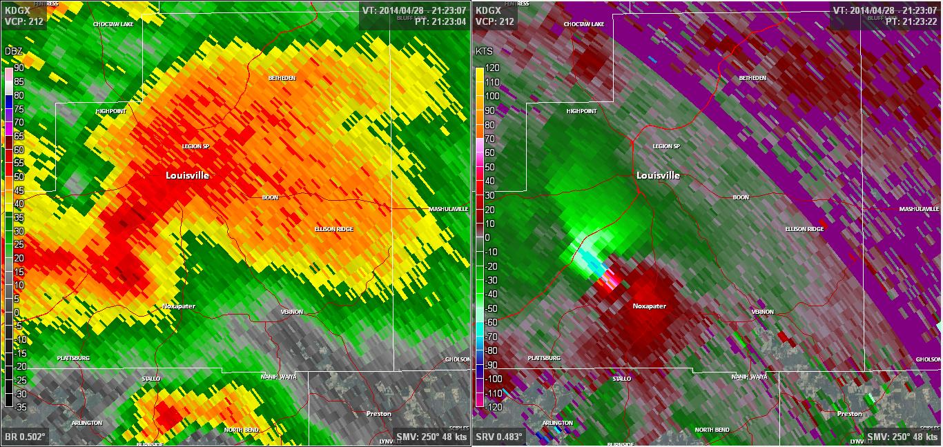 Louisville, MS EF4 Tornado – April 28, 2014