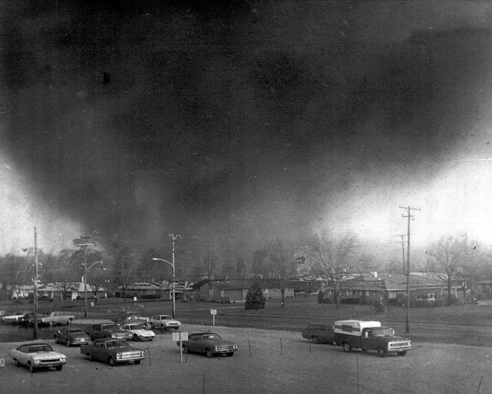 The Xenia, OH F5 Tornado – April 3, 1974