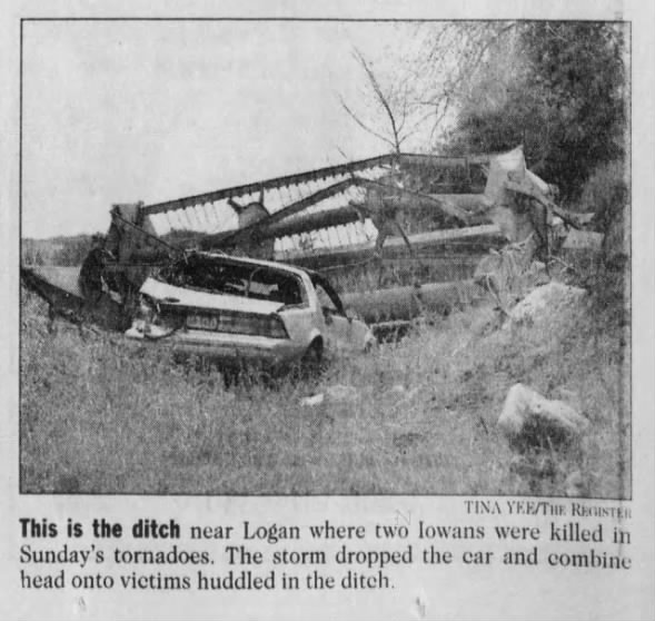 Harrison County, IA F3 Tornadoes – May 16, 1999