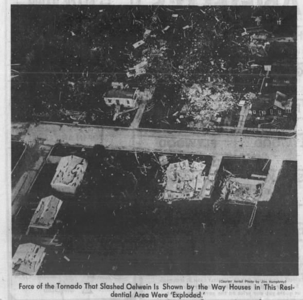 Oelwein, IA F5 Tornado – May 15, 1968