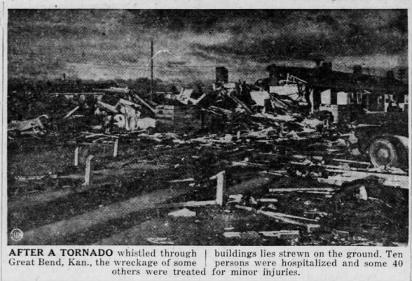 Zook-Great Bend, KS F4 Tornado – May 4, 1950