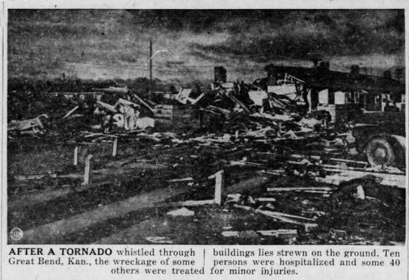 Zook-Great Bend, KS F4 Tornado – May 4, 1950