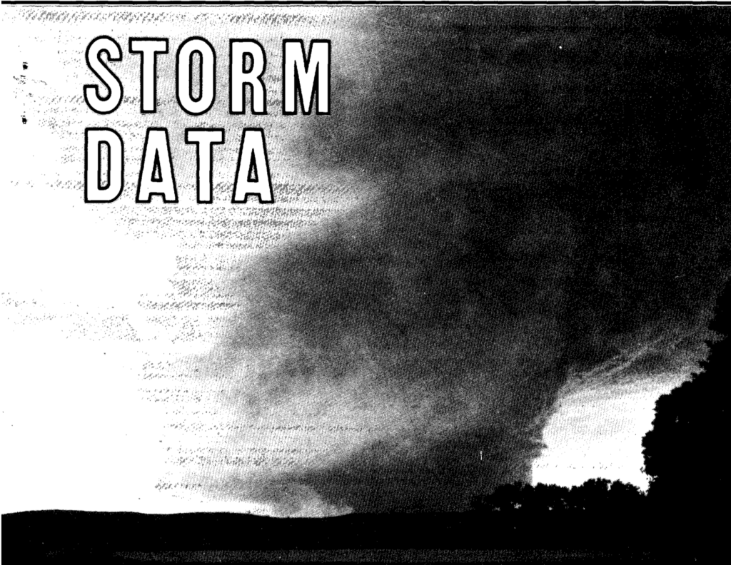 Stratton-McCook, NE F4 Tornado – June 15, 1990