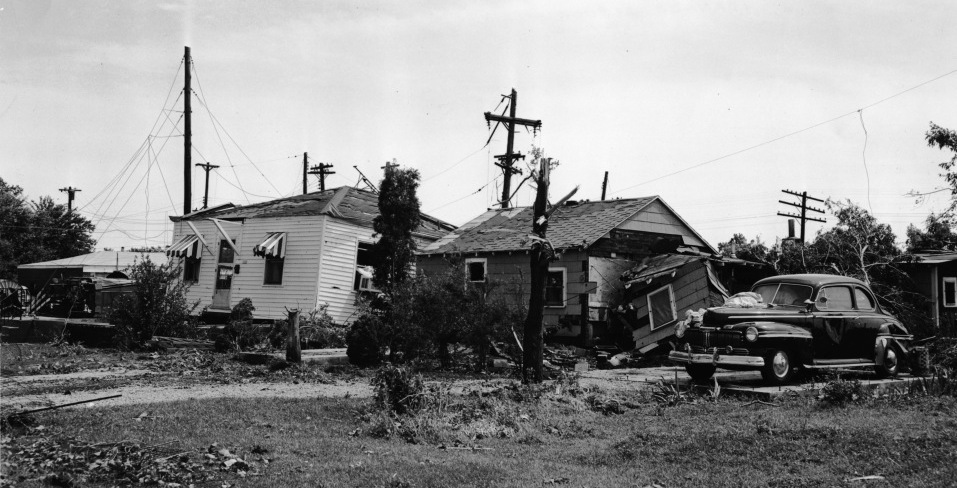 Springfield, IL F4 Tornado – June 14, 1957