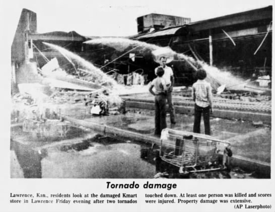 Lawrence, KS F3 Tornado – June 19, 1981