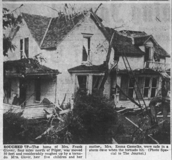 Pilger-Thurston, NE F3 Tornado – June 17, 1954