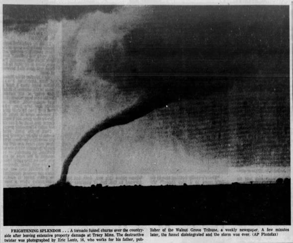 Tracy, MN F5 Tornado – June 13, 1968