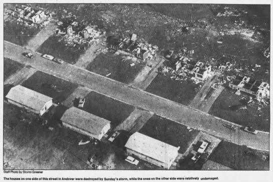 Andover, MN F4 Tornado – July 3, 1983