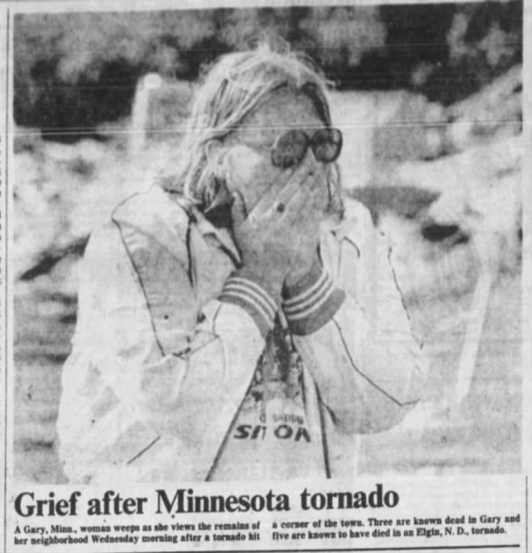 Gary-Fosston-Clearbrook, MN F2 (F3) Tornado – July 5, 1978