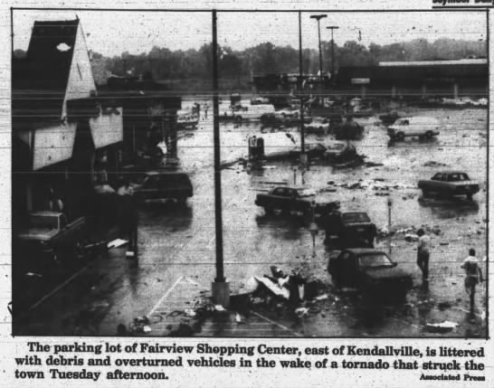 Kendallville, IN F2 Tornado – July 14, 1992