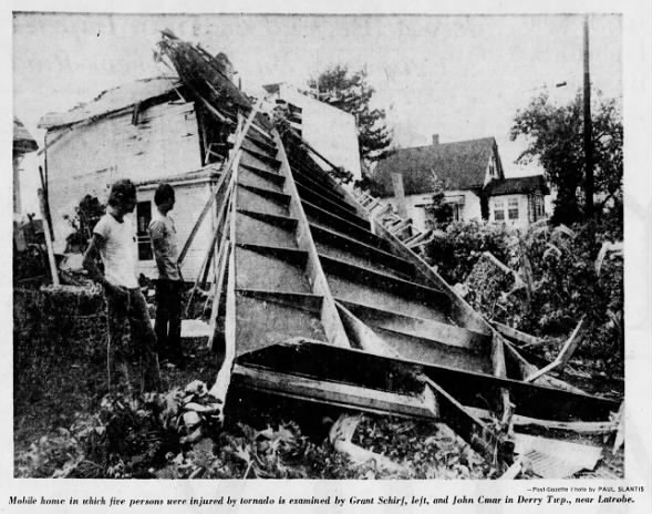 Latrobe, PA F3 Tornado – July 11, 1976