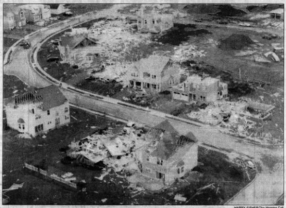 Limerick, PA F3 Tornado – July 27, 1994