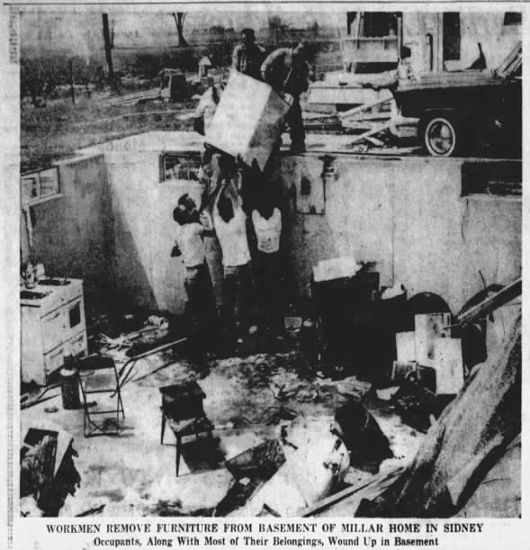 Sidney, OH F3 Tornado – July 28, 1961