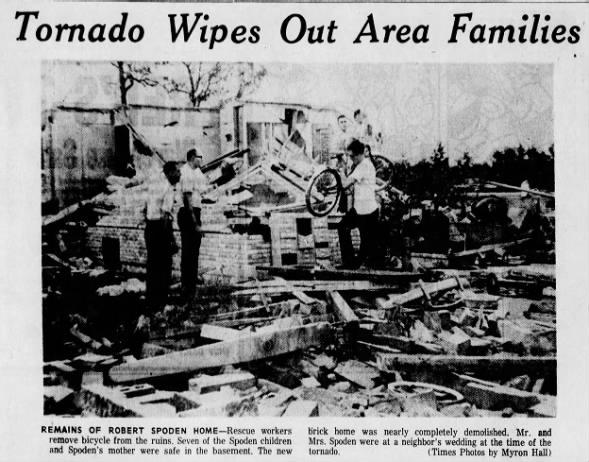 St. Augusta-Zimmerman, MN F2 (F3) Tornado – July 22, 1967