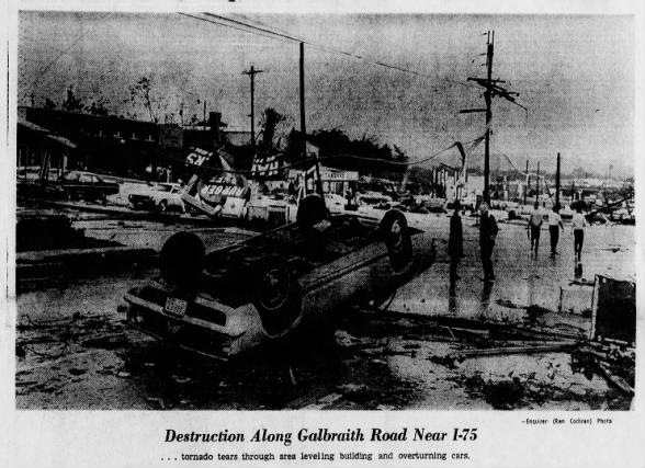 Cincinnati, OH F3 Tornado – August 9, 1969