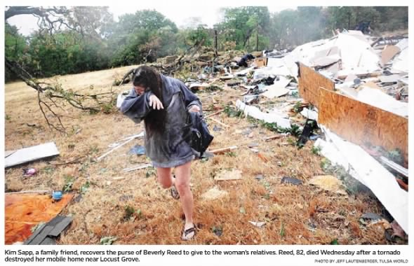 Locust Grove, OK EF2 Tornado – August 10, 2011