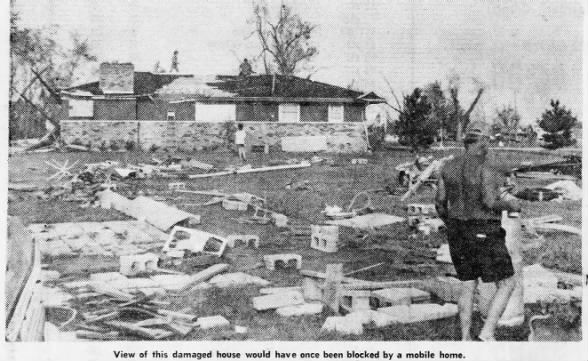 Lake Mattoon, IL F3 Tornado – August 21, 1977