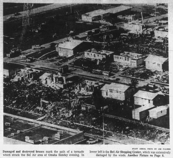 Omaha, NE F3 Tornado – August 18, 1968