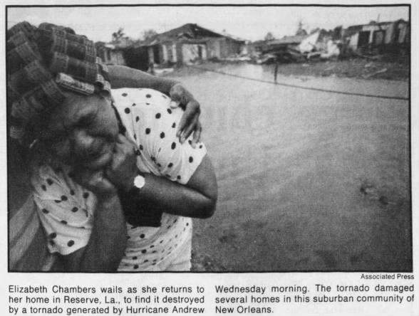 Reserve, LA F3 Tornado – August 25, 1992